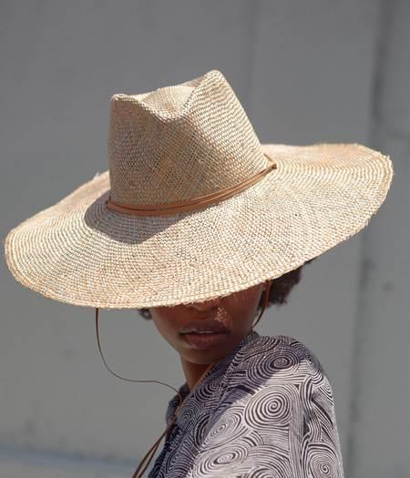 Clyde Poppy Hat - Copper Parisisal Straw