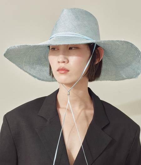 Clyde Poppy Hat - Hydra Parisisal Straw
