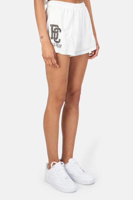 Blue&Cream New York Mesh Shorts - White