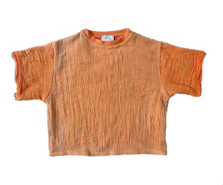 HALO Gauze T Shirt - Orange