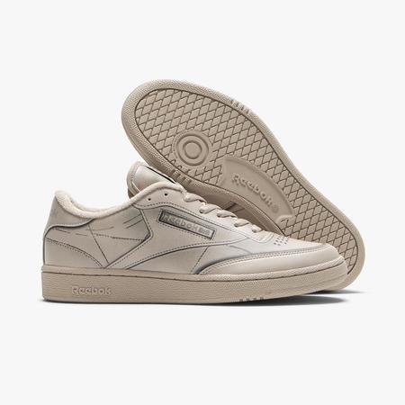 Reebok x Maison Margiela Club C Trompe L'oeil shoes - white