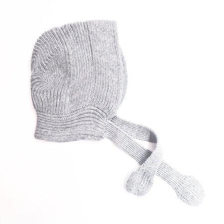 KIDS Makié Baby Alpaca Star Bonnet - GREY