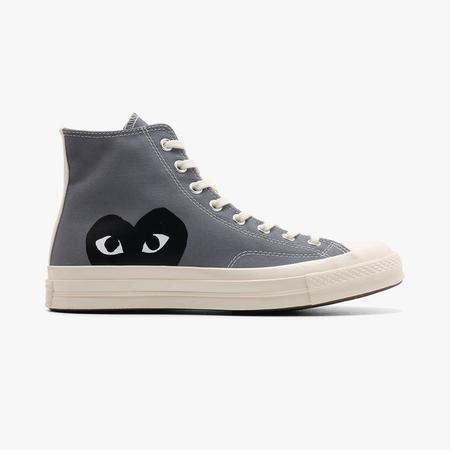 Converse x LIKE from boys PLAY Chuck Taylor Hi / Grey
