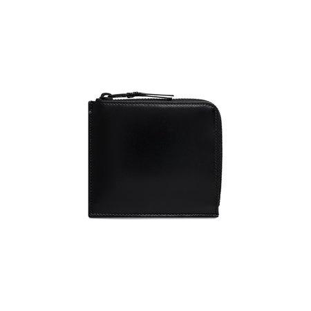 Comme Des Garçons Corner Zip Wallet - Very Black