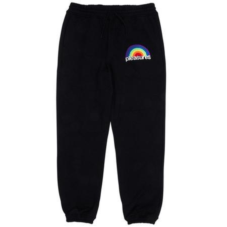 PLEASURES Good Time Sweatpants - Black