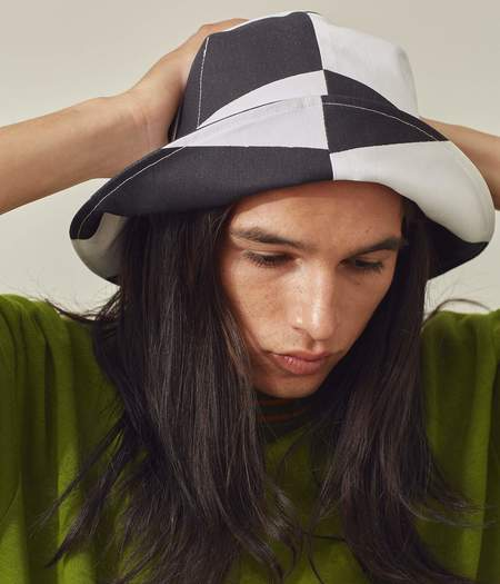Clyde Sunbeam Hat - Black/White