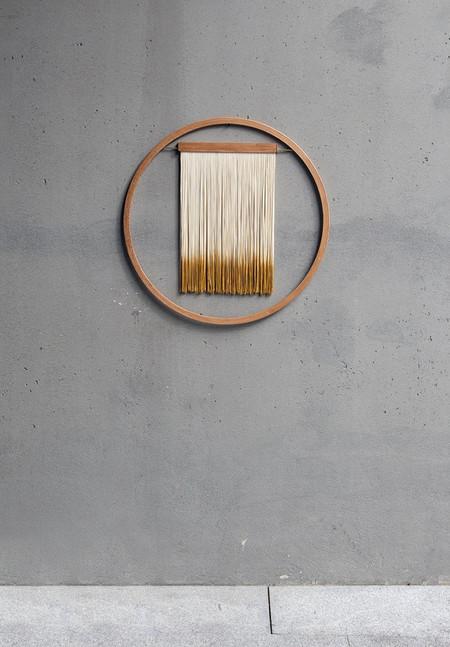 JULIE THÉVENOT Small Six-Zero Wall Hanging - Brown
