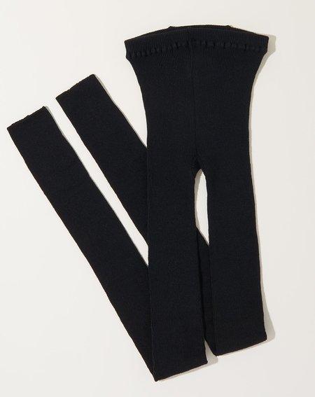 ICHI ANTIQUITES Loiter Knit Leggings - Black