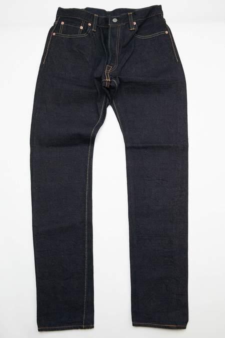 Pure Blue Japan OG-019 Pant - Indigo/Brown