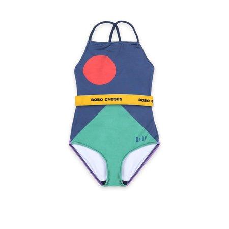 kids bobo choses balance swimsuit - navy blue