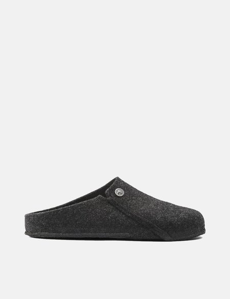 Birkenstock Zermatt Slipper Narrow Sandals - Anthracite Grey
