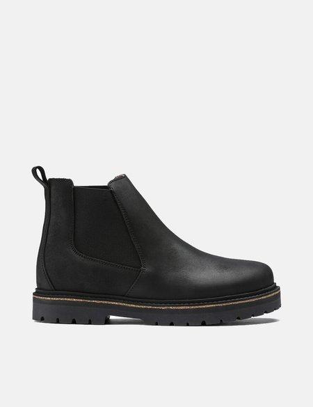 Birkenstock Stalon Narrow Nubuck Leather Boot - Black