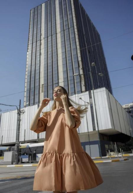 Devotion Helsinki Short Dress - Rose Dawn