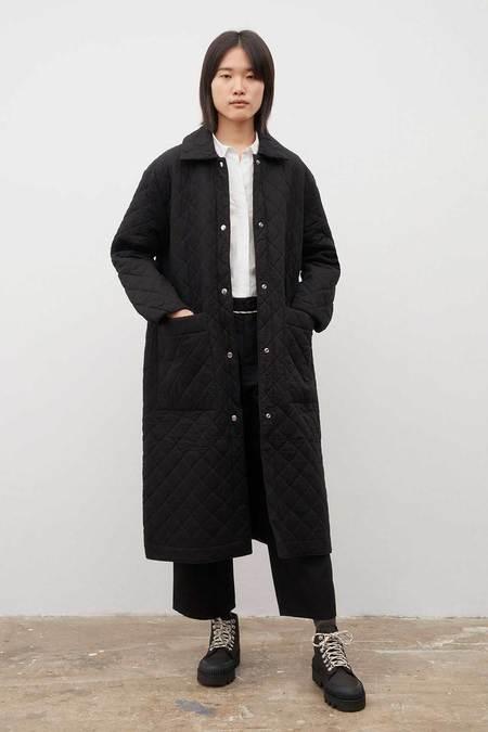 Kowtow Quilt Coat - black