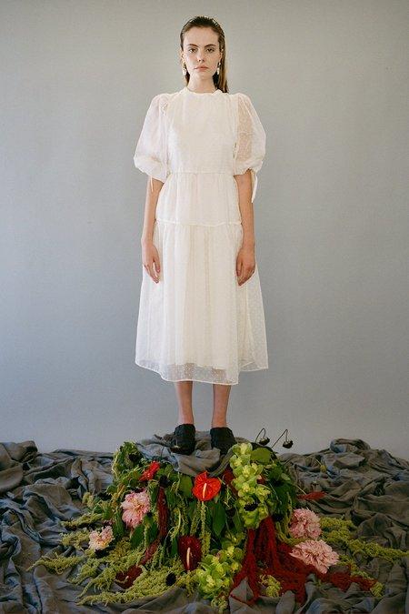 KkCo Hus Organza Dress - Ice Dot