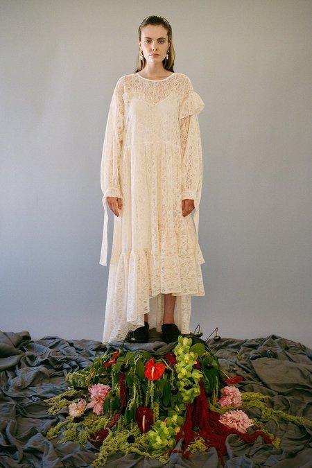 KkCo Nine Twenty-Seven Lace Dress - Soft Ivory