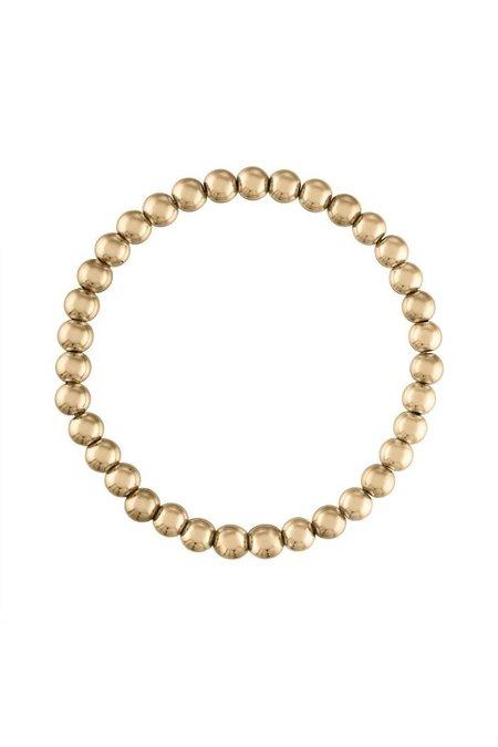 Alexa Leigh 5MM Ball Bracelet - gold