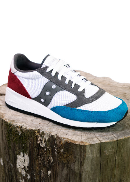 Saucony Jazz 91 (White/Blue/Red)