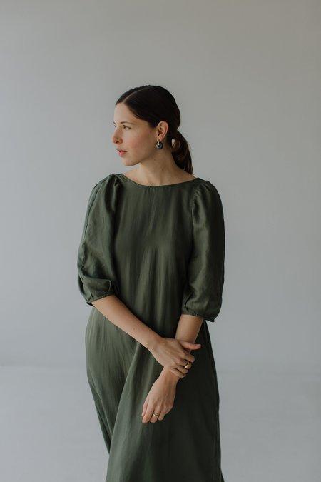 Mina Bloom Dress - Sage