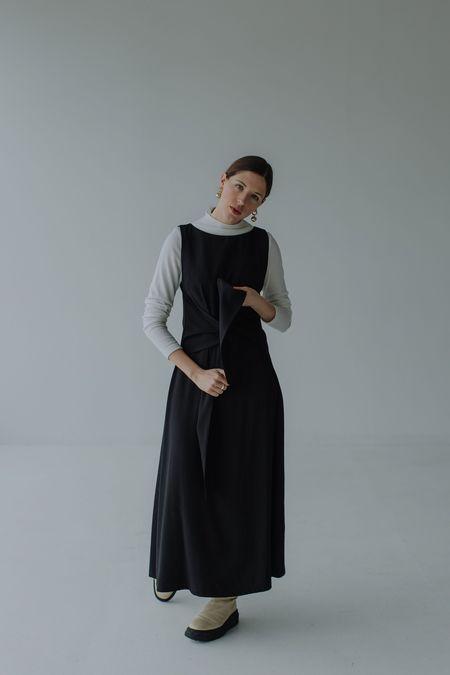 Mina Lake Dress - Black