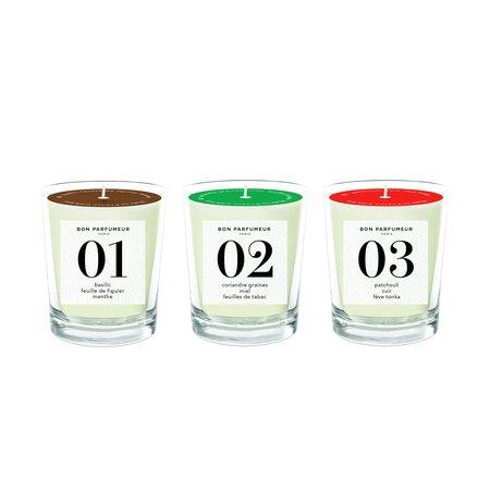 Bon Parfumeur Mini Candles