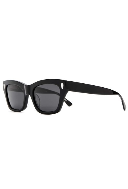 Crap Eyewear The Cosmic Highway Sunglasses - Black Polarized