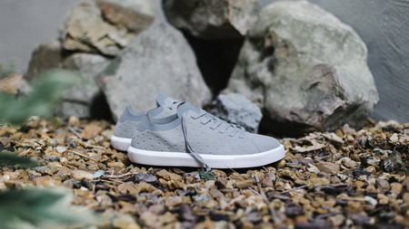 Native Shoes Monaco Low (Pigeon Grey/Shell White)