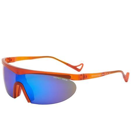 District Vision Koharu EYEWEAR - Orange