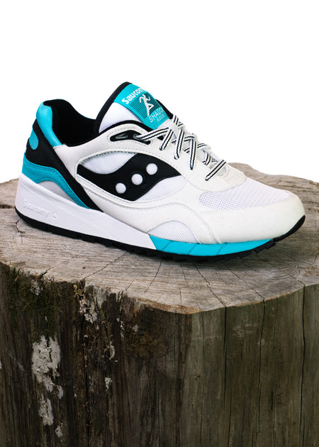 Saucony Shadow 6000 - White/Black