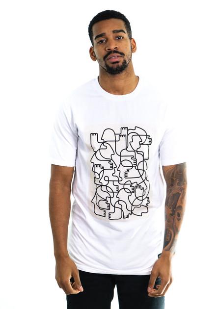 I Love Ugly SS Calugi T-Shirt - White