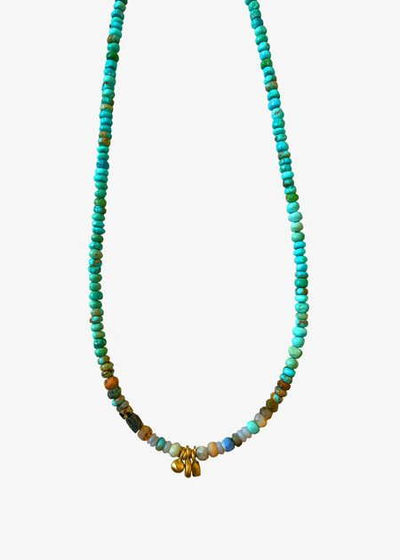 Agas and Tamar Gold Drop Elements Necklace