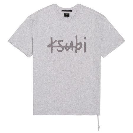 Ksubi 1999 Biggie S/S Tee - Grey