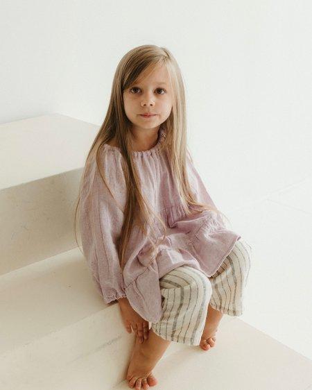 kids Kat Seaton The Flounce Top - Lilac