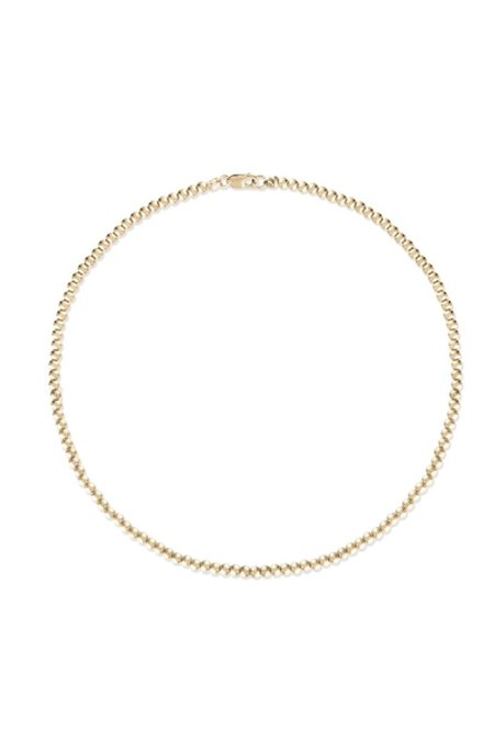 Alexa Leigh 3mm Ball Anklet - Gold