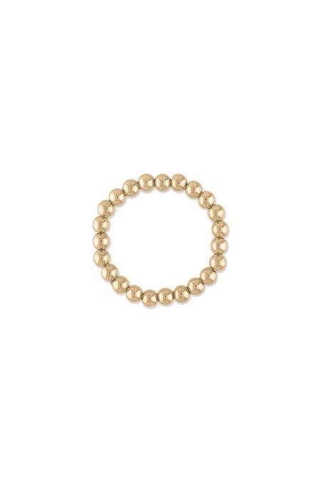 Alexa Leigh Mini Ball Ring - Gold