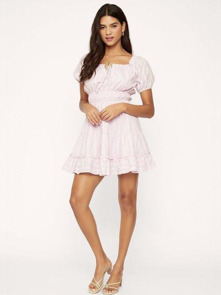 Lost + Wander Lilac Mini Dress - Lilac