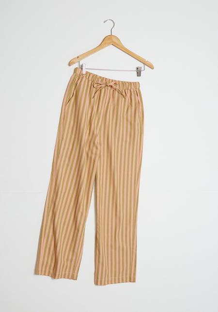 Blanca Tina Pants - Pink/Brown Stripe