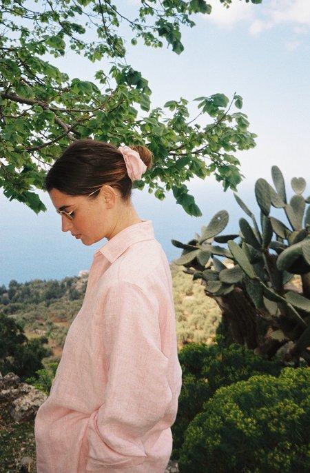 Datura Linen Scrunchie - Terra Pink