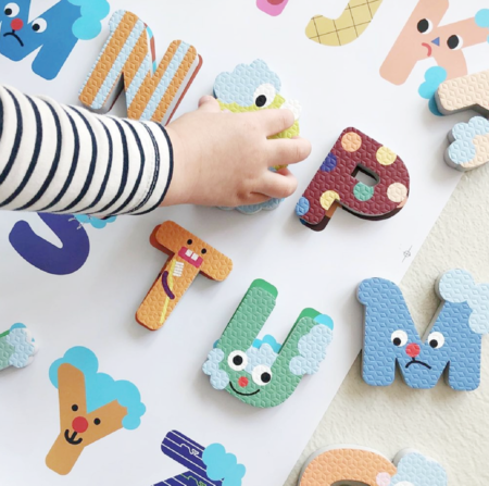 kids Nahthing Project Alphabet Creative Play Set toy