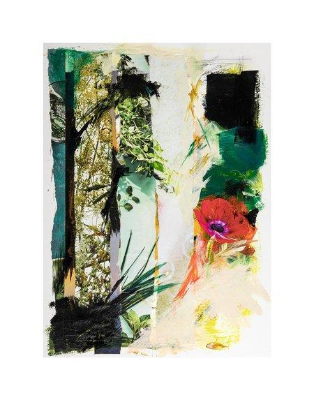 """Emily Johnson Understory Unframed 28""""x40"""" art"""