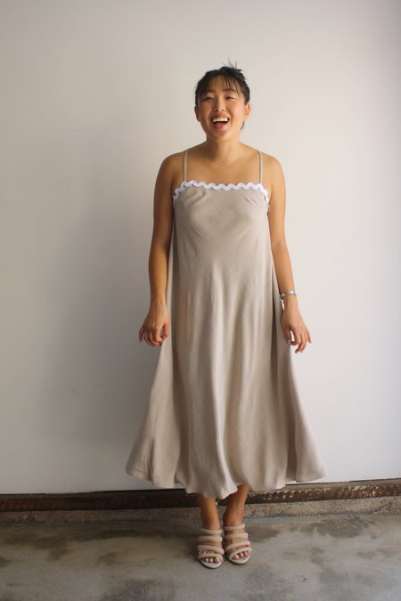 Diarte Altea Dress - Stone