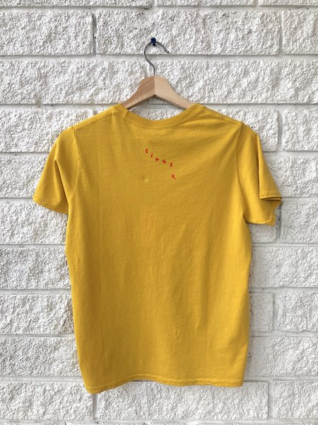 Clare V. Camp Fit Tee - Marigold