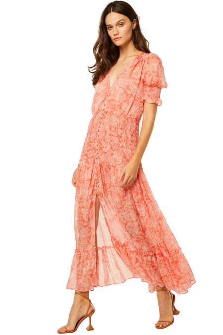Misa Los Angeles Parisa Dress - Summer Paisley