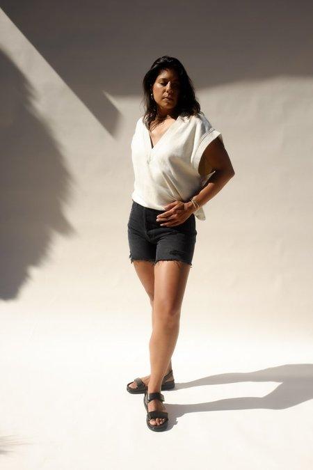 Agolde Riley Shorts - Vortex