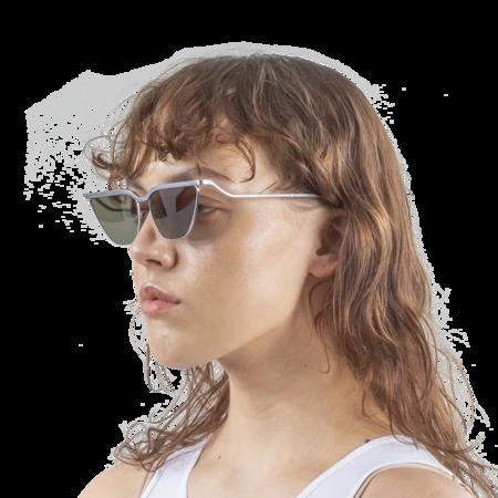 Rejina Pyo Kira Singlasses - White Gold