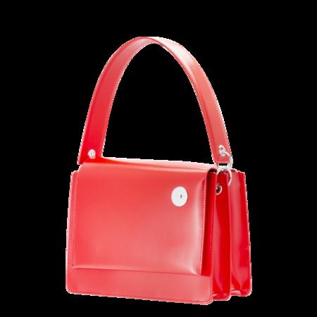 KARA Pinch Shoulder Bag - Red