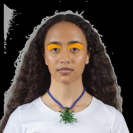 Maryam Nassir Zadeh Poseidon Necklace - Green