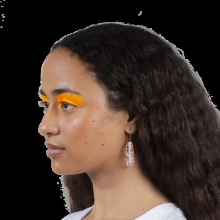 Maryam Nassir Zadeh Scepter Earrings - Ice