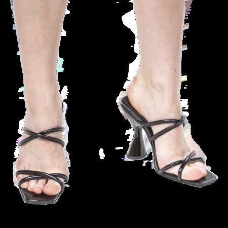 DORATEYMUR Stainless Sandal - Black