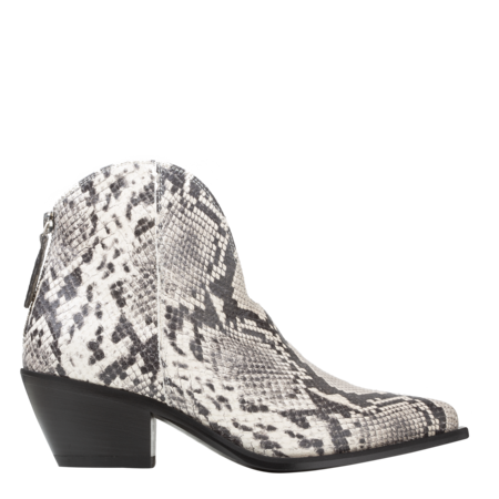 MSGM Tronchetto Donna Colorado Ankle Boots - Snake